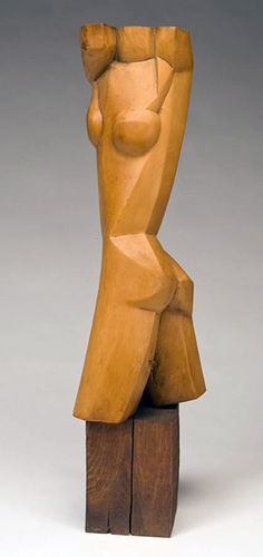 Ossip Zadkine (1890-1967) - Torse de femme (1925)