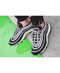 a3ce19616f6 Nike Air Max 97 OG Black Volt Sale