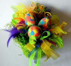 Wielkanocne ozdoby. - KarolaArt