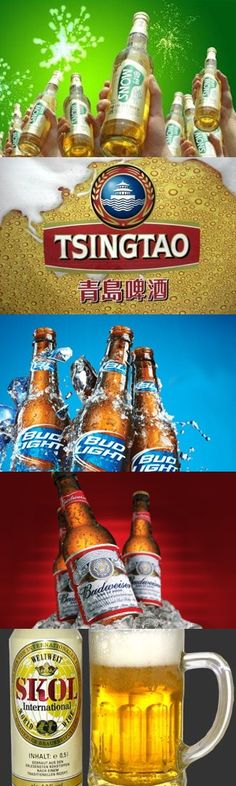 Le cinque marche di birra più vendute al mondo