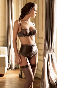 "Simone Perele => SOURCE: @Iris Loos White Hamilton ""Lingerie and Style .ME"" Board via."