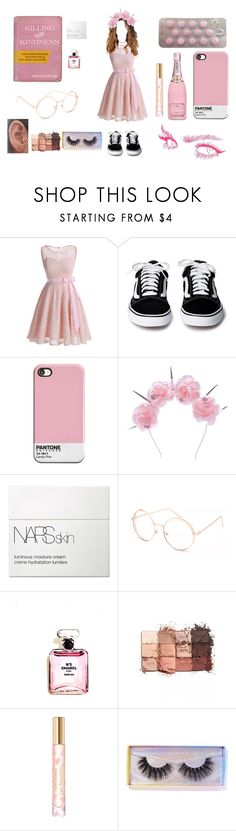 """Untitled #276"" by bunniesofdeath ❤ liked on Polyvore featuring Gypsy, Chanel, Vox Populi, NARS Cosmetics, Full Tilt, tarte, Tory Burch and Featherella"