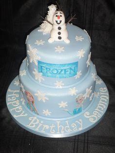 'Frozen' cake :)