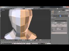 ▶ Blender - Modeling a Human Head Basemesh - YouTube