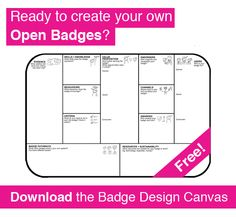 Open Badges Blog — DigitalMe | Badge Design Canvas