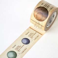 MT ex wide Solar System Washi Tape by mt masking tape | Fox and Star UK