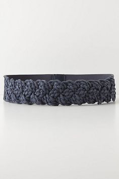 Braided Rope Belt #anthropologie