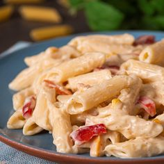Romanian Food, Tasty, Yummy Food, Penne, Food Design, Soul Food, Food Videos, Pasta Salad, Food Inspiration