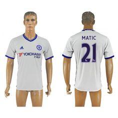 Chelsea 16-17  #Matic 21 3 trøje Kort ærmer,208,58KR,shirtshopservice@gmail.com