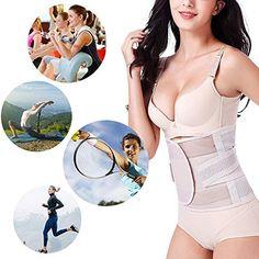 91a09682e Miqieer Waist Trainer Belt for Women Unisex Waist Cincher Trimmer Slimming  Body Shaper Belt