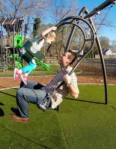Expression Swing | Industry First Parent and Child Swing | GameTime