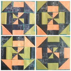 Disappearing Pinwheel Quilt Block Tutorial