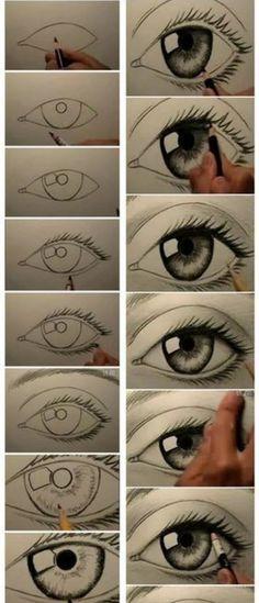 Drug Abuse / How to draw: Eye draw-draw-draw
