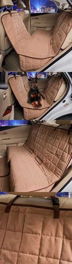 Car Seat Covers 117426: Travel Dog Car Seat Cover Pet Side Protector Quilted Waterproof Hammock Bench -> BUY IT NOW ONLY: $46.49 on eBay!