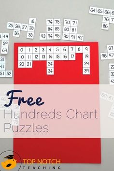 Seeing the patterns in numbers helps kids in math. Using a hundreds chart gives many opportunities to explore these patterns and gives students practice in counting and remembering numbers in the correct order. Here are 7 hundreds chart math activities. #mathpracticegames #mathlessons
