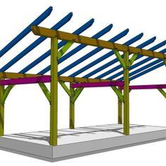 14×30 Timber Frame Shed 2