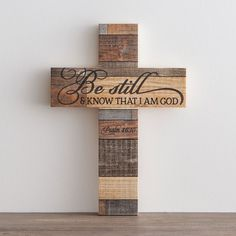 DaySpring offers Inspirational gifts, including beautiful crosses in a variety of styles. Wooden Cross Crafts, Barn Wood Crafts, Wooden Crosses, Crosses Decor, Wall Crosses, Wooden Decor, Wooden Diy, Paper Bag Walls, Diy Pallet Wall