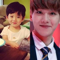 BABY BAEK IS S CUTE I ACTUALLY WANT TO SCREAM