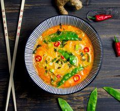 Thai Recipes, Veggie Recipes, Asian Recipes, Mexican Food Recipes, Vegetarian Recipes, Healthy Recipes, Healthy Food, Curry Soup, Dinner Recipes For Kids