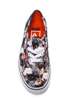 Vans Authentic Sneaker in Cats