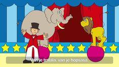 In het circus - Kinderliedjes met tekst Circus Clown, Circus Theme, Youtube, Family Guy, Vans, Clowns, Fictional Characters, Film, School