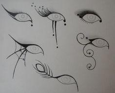 Dramatic eye designs by margarett