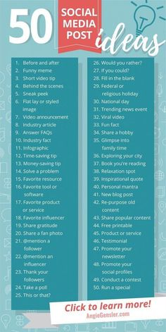 Get these 100 ideas of what to post on social media! - Do you need ideas on what you want to publish on social media? These 50 ideas are perfect for busin - media marketing ideas startups Social Marketing, Marketing Digital Online, Facebook Marketing, Affiliate Marketing, Internet Marketing, Inbound Marketing, Marketing Tools, Content Marketing Strategy, Examples Of Marketing Strategies