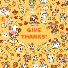 Give Thanks | Tokidoki