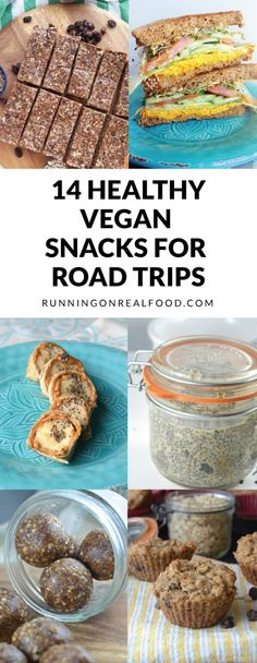 healthy vegan snacks for road trips and travelling