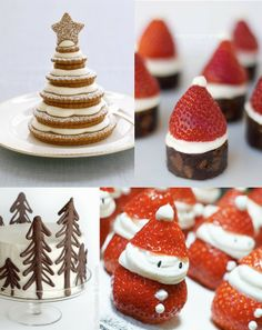 Maiko Nagao - diy, craft, fashion + design blog: Christmas dessert inspiration...