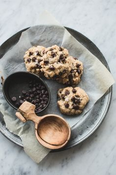 Tablespoon Chocolate Chip Cookies (Vegan)