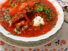 """ボルシチ """"Борщ"""" ~ ロシア/ウクライナ料理 Russian Recipes, Russian Foods, Thai Red Curry, Cooking, Ethnic Recipes, You Are Awesome, Kitchen, Russian Cuisine, Brewing"""