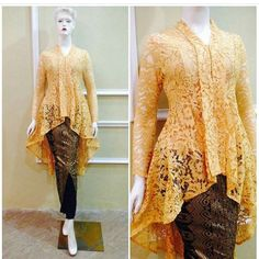Kutu baru m odern Kebaya Lace, Kebaya Brokat, Batik Kebaya, Kebaya Dress, Batik Dress, Dress Brukat, Hijab Dress, Kebaya Muslim, Kutu Baru Modern