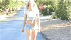 Public Flashing and Public Naughtiness — Staci Carr happily letting her boobs out to get...