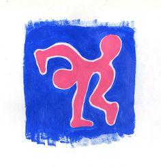 Acrílico sobre papel Drink Sleeves, Logos, Art, Paper Envelopes, Art Background, Kunst, Logo, Art Education, Legos