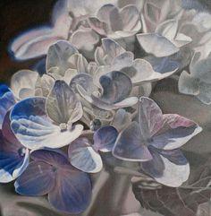 Hydrangea by Lillemut on deviantART.   Oil