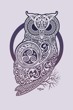 CELTIC OWL by RAIDHO
