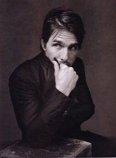 Tom Cruise He is attractive Men In Black, Black And White, Tom Cruise, Famous Men, Famous Faces, Film Top Gun, Old Hollywood Movies, Hooray For Hollywood, About Time Movie