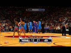 NBA 2K14 - Oklahoma City Thunder vs Miami Heat Gameplay [HD] - http://weheartokcthunder.com/okc-thunder-videos/nba-2k14-oklahoma-city-thunder-vs-miami-heat-gameplay-hd