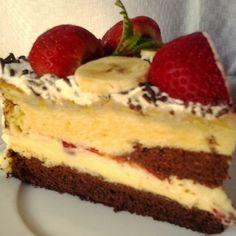 Epres-banános torta Recept képpel - Mindmegette.hu - Receptek