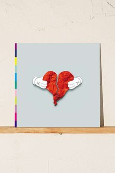 Slide View: 1: Kanye West - 808s And Heartbreak LP