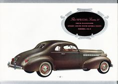 1938 Buick Special Series 40 Sport Coupe