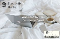 Are you organizationally challenged?  Me too!  My office, my home and my brain are often a mess.  Join me as I journey from dawdler to do-er.  http://www.realmomlife.com/9-productivity-hacks-watch-me-go-from-dawdler-to-do-er/