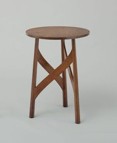 Side Table, Mackay Hugh Baillie Scott   circa 1901,Manufactured by Pyghtle Works, Bedford, England