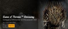 32 RED CASINO - Game of Thrones™ Giveaway - UK Casino List