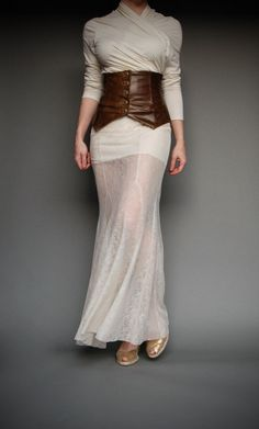 Lace Maxi Skirt Ivory Mermaid Silhouette. http://www.etsy.com/listing/72460822/lace-maxi-skirt-ivory-mermaid-silhouette