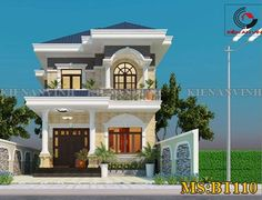 50 Best Inspiring Small Two Story House Design Ideas Two Story House Design, House Front Design, Design Your Dream House, Small House Design, Small House Floor Plans, Modern House Plans, Latest House Designs, Cool House Designs, House Plans Mansion