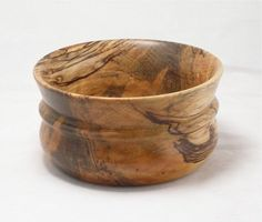 Spalted Sycamore Girdled Bowl