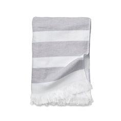 MARINE STRIPE TOWEL, Cocoa. Citta Design