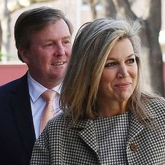 King Willem-Alexander & Queen Máxima during their visit to China yesterday.